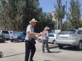 В столице около рынка «Мадина» задержаны лжепарковщики