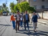Мэр Бишкека ознакомился с ходом ремонта дорог