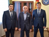 Мэр Бишкека встретился с Генеральным секретарем Союза муниципалитетов Тюркского мира